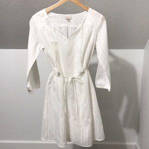 Merona• white cotton Dress• Sz.XS